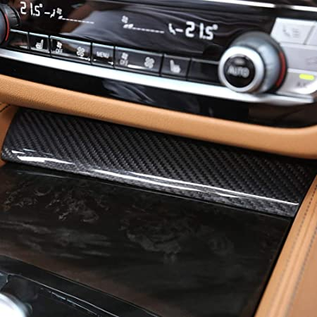 Accessori e Parti AUTO Pro per BMW Serie 5 G30 2017 2018 in Fibra di Carbonio e plastica ABS Decorazione per cruscotto Auto