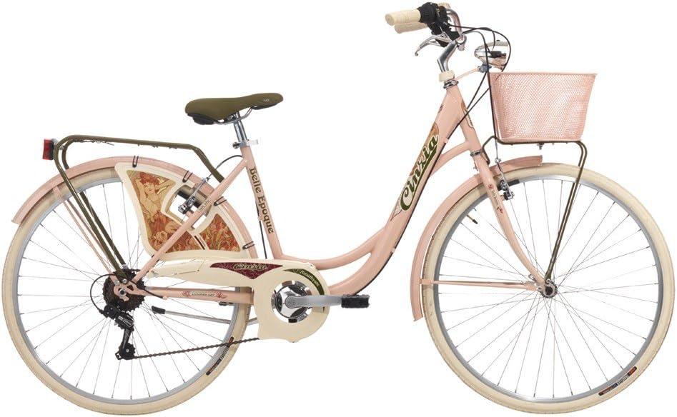 Bicicleta Cicli Cinzia Belle Epoque de mujer, con marco de acero ...