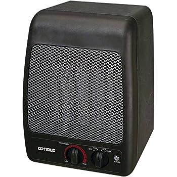 Amazon Com Optimus H 7000 Portable Ceramic Heater Home