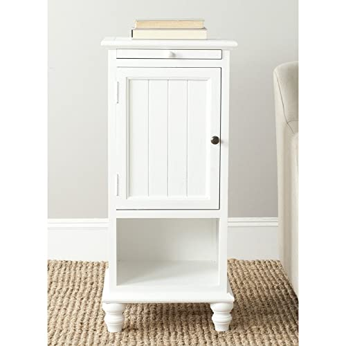 Safavieh American Homes Collection Jezabel End Table, White