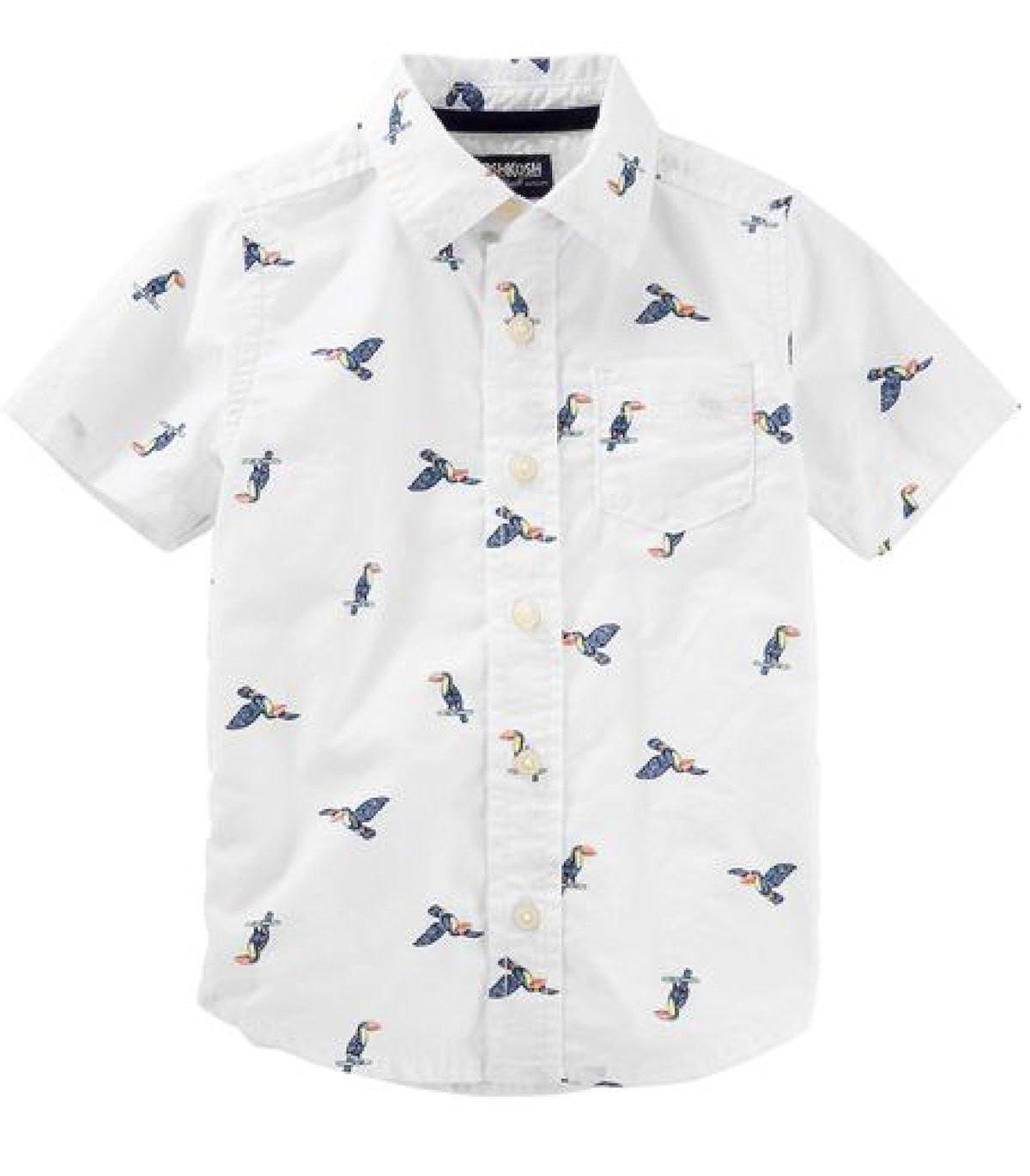 OshKosh BGosh Toddler Toucan Button-Front Shirt