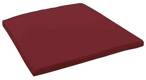 Cuscino per sedia metropolitan per sgabello da bar 42 x 43 x 3 cm