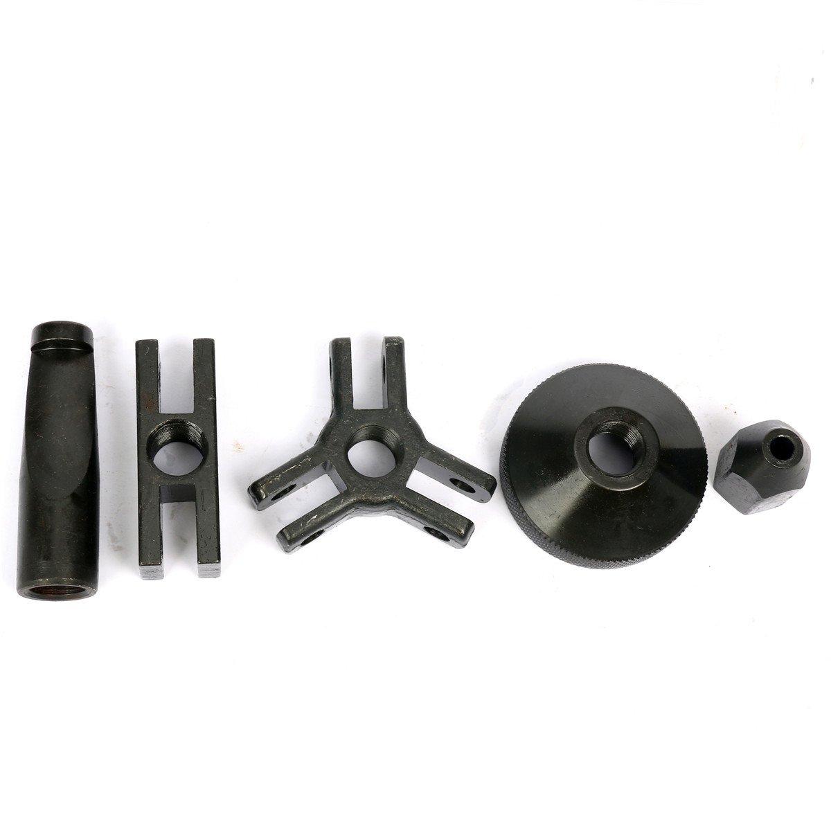 bujes y lunas FreeTec Extractor de cojinetes y cubos de ruedas herramientas con martillo deslizante