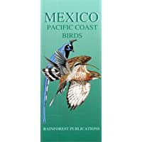 Mexico Pacific Coast Birds Guide (Laminated Foldout Pocket Field Guide) (English and Spanish Edition)