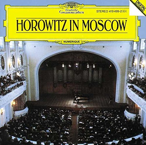CD : Vladimir Horowitz - Horowitz In Moscow (CD)
