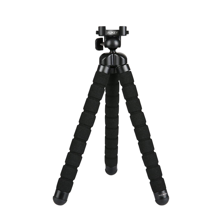 AUKEY Treppiedi Mini Flessibile Portatile 360 Gradi con Vite da 1/4