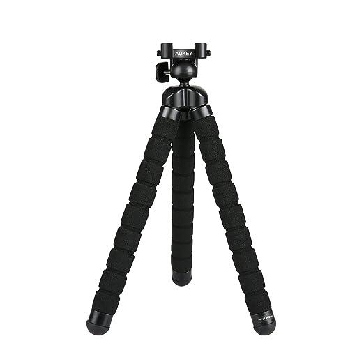 """51 opinioni per AUKEY Treppiedi Mini Flessibile Portatile 360° Gradi con Vite da 1/4"""" Gorillapod"""