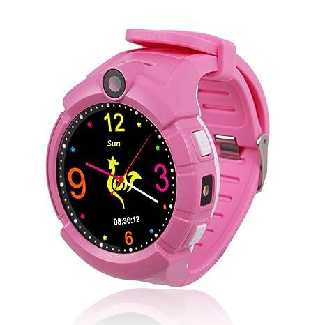 Waroomss Q610S reloj inteligente para niños, reloj inteligente de 1.4 pulgadas táctil anti-perdida