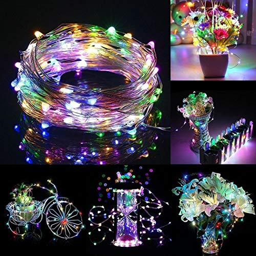 USB Starry Lights, Outgeek 32.8ft LED String Light 100 LEDs Fairy Light for Wedding Party Festival Home Decorations Bedroom Patio