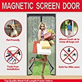 Kyпить Mysuntown Magnetic Screen Door with Tight Magnet Seal, Close Automatically Mesh Curtain на Amazon.com