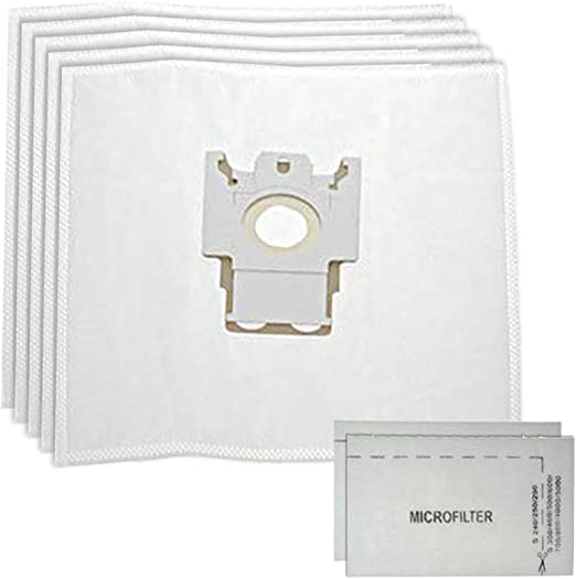 Spares2go - 5 bolsas de polvo tipo FJM + 2 filtros para aspiradora ...