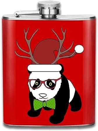 Compra Feliz Navidad Panda acero inoxidable Flagon Retro Ron ...