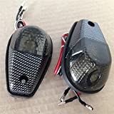 XKH Group Motorcycle Smoke Flush Mount Motorcycle Turn Signals Blinker Light For Universal Sportbikes new