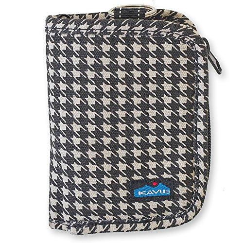 KAVU Women's Zippy Wallet, Houndstooth, One Size by KAVU
