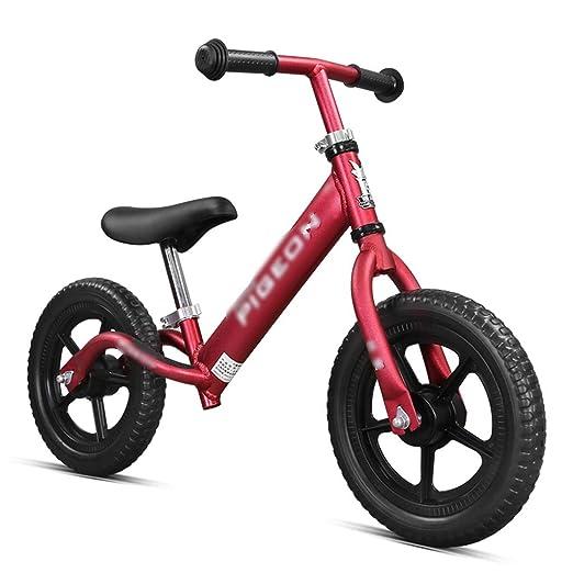 JianMeiHome Bicicleta para niños roja Bicicleta Infantil aleación ...