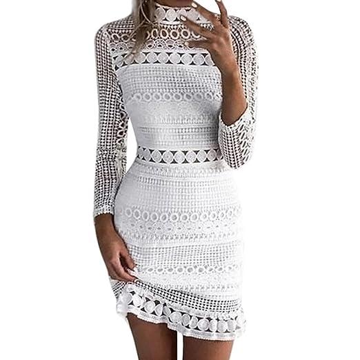 Vestido Para Mujer,BBestseller mujeres Sexy Lace cocktail de Bodycon Señoras parte lápiz vestido vendaje
