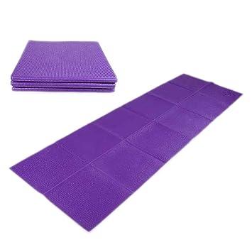 GLL- Portátil Plegable Yoga Mat, Yoga Mat Length 1830 ...