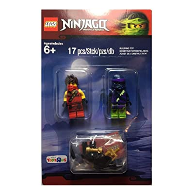 Lego Ninjago Kai (Tournament Robe) & Ghost Ninja Wooo Minifigure set 5003085 Exclusive: Toys & Games
