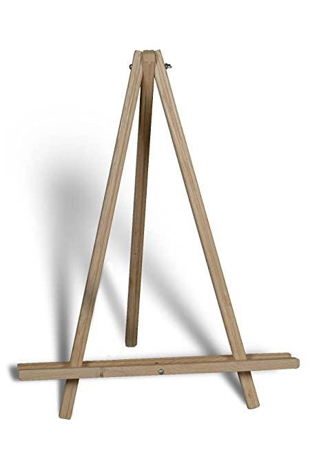 amazon com american easel 24 inch table top tripod natural fir