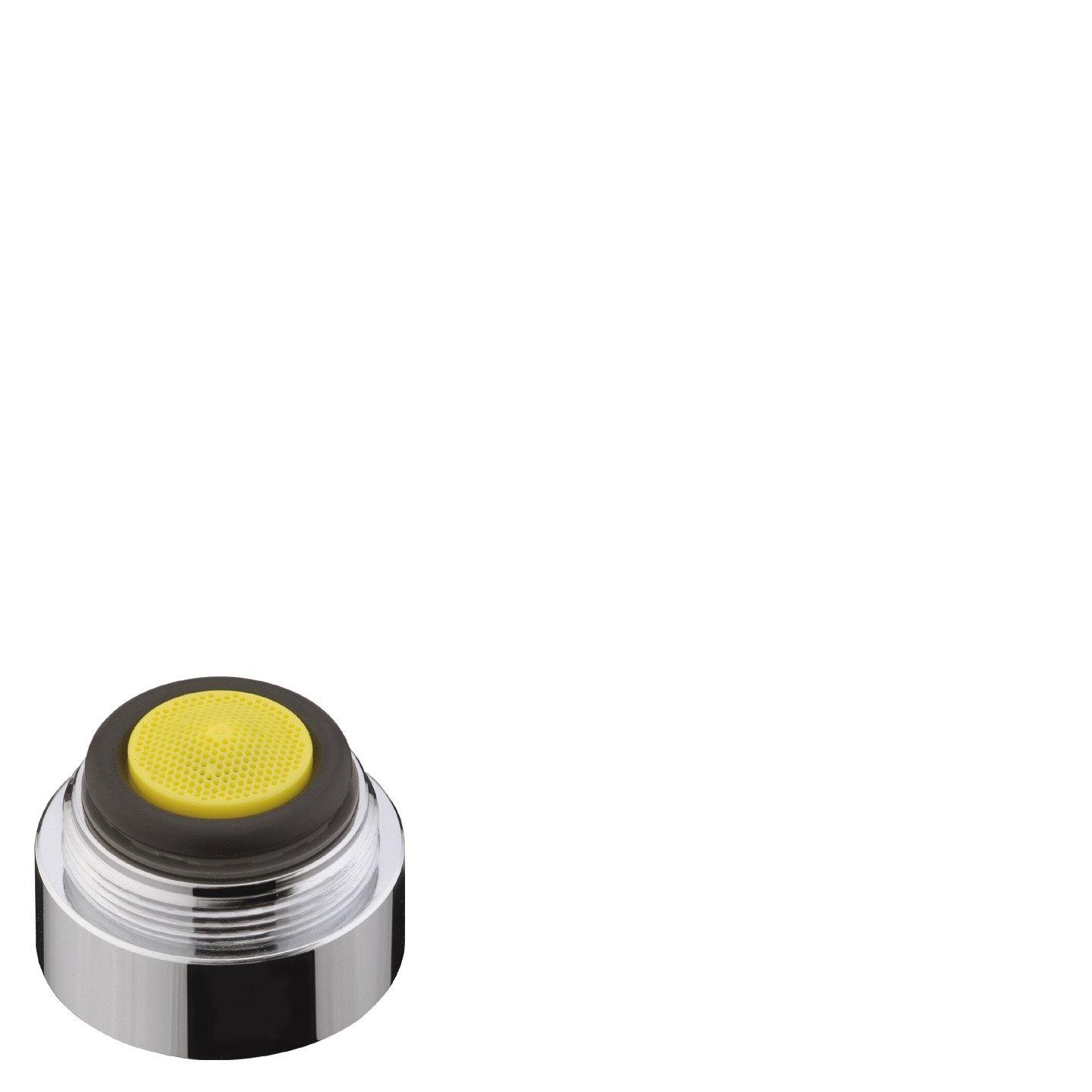 mit Durchflussbegrenzer, 7l//min AXOR Ersatzteil wassersparender Luftsprudler