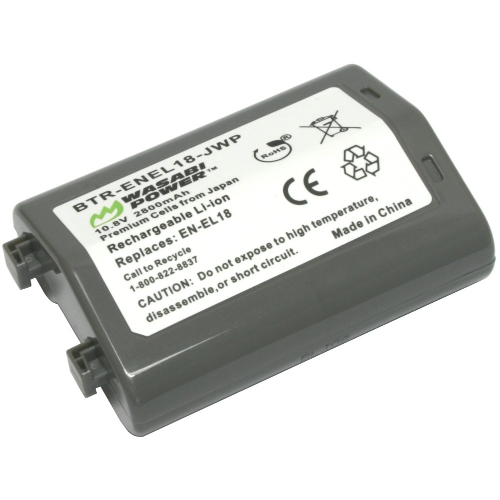 Wasabi Power Battery for Nikon EN-EL18 and Nikon D4, D4S, D5 by Wasabi Power (Image #2)