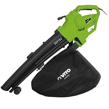 Vitogarden - Aspirador soplador de hojas (3000 W, bolsa de ...