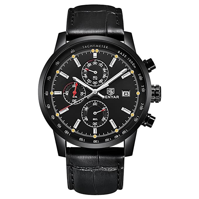3b452644e3f7 Montre - Benyar - BY-5102M  Amazon.fr  Montres