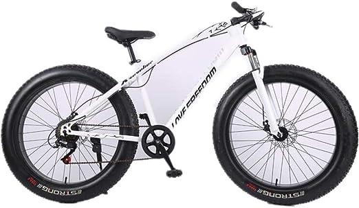 Tbagem-Yjr Bicicleta De Montaña, 26 Pulgadas De La Rueda De Freno De Doble Disco De Las Ciudades De Los Neumáticos De Bicicleta Carretera Ancha (Color : Black, Size : 27 Speed): Amazon.es: Hogar