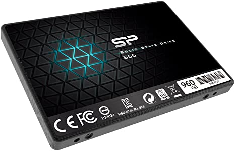 Silicon Power S55 480GB 2.5 7mm SATA III Internal Solid State Drive SP480GBSS3S55S25
