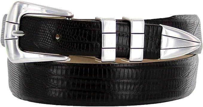 1-1//8 to 1 Wide Genuine Leather Italian Calfskin Designer Dress Belt