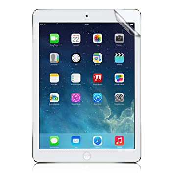 kwmobile Protector de Pantalla para Apple iPad Air/Air 2 - Salvapantallas [Mate]