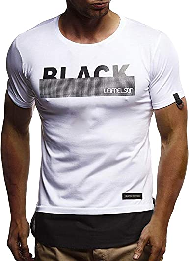JUTOO Camisetas Hombre Manga Corta Camisetas Hombre Originales Camiseta Deporte Hombre Camisetas Hombre Originales Divertidas Camiseta Termica Hombre Camiseta: Amazon.es: Ropa y accesorios