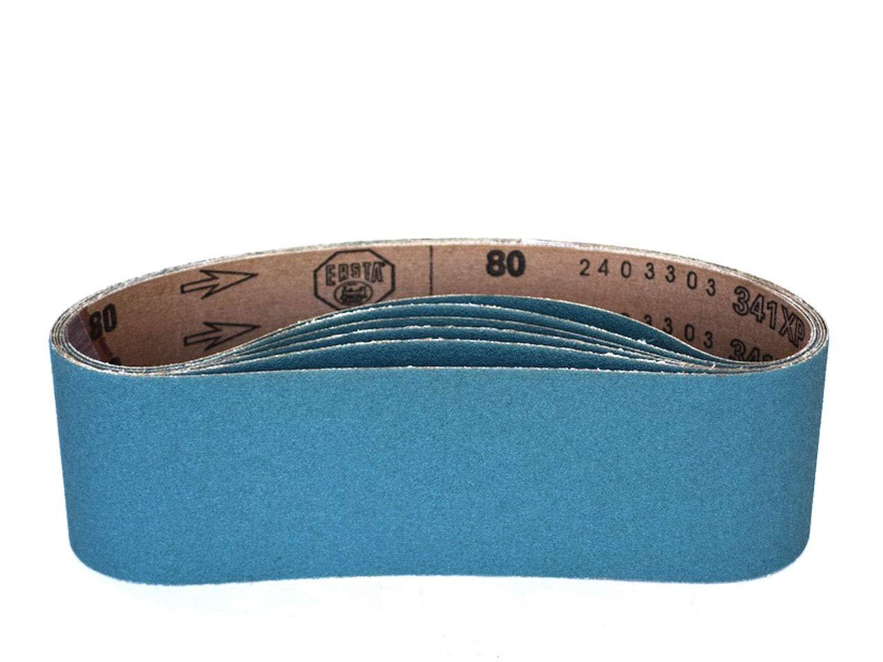 3 X 21 Inch Sanding Belts Zirconia Cloth Narrow Sander Belts 8 Pack, 24 Grit