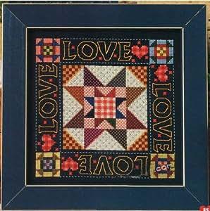 Punto de cruz kit de bordado amor y amistad (DMC hilo de bordar) F275 (jap?n importaci?n)