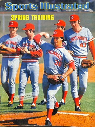 (Sports Illustrated March 3 1975, Cincinnati Reds Spring Training)