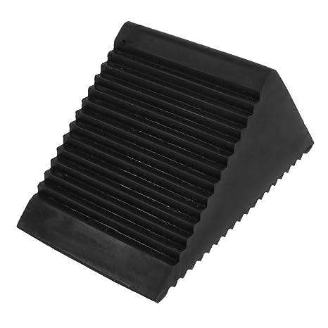 TOOGOO(R) Amortiguador de bloqueo de parada cuna de rueda de goma antideslizante de