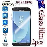 [2-Pack] Samsung Galaxy J5 Pro 2017 / J5 2017 Tempered Glass LCD Screen Protector Film Guard