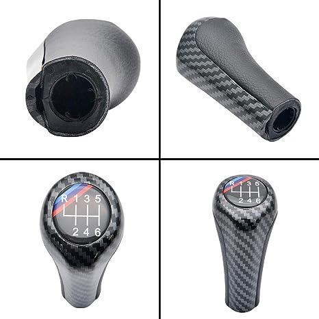 MASO - Pomo de palanca de cambios de fibra de carbono para BMW M ...