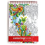 Adult Coloring Book, Garden Paths + Colorable Calendar