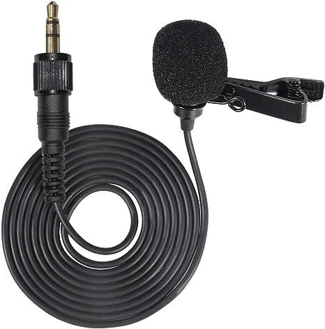 Cable de entrada de micrófono Lavalier de condensador ...