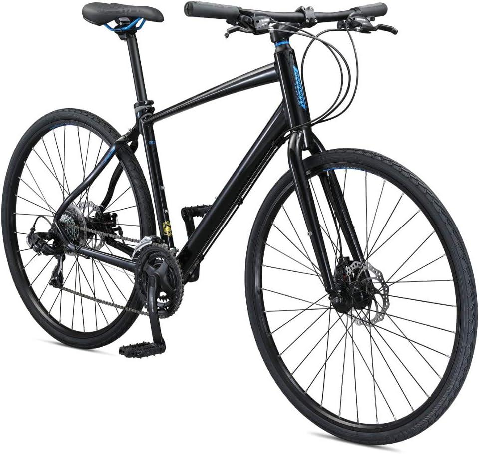 Schwinn Vantage Mens/Womens Hybrid Road Bike, Disc Brakes, Aluminum Frame, Multiple Colors