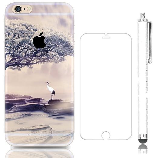 26 opinioni per Sunroyal® Creative 3D TPU Custodia per Apple iPhone SE 5 5S Trasparente Chiaro 3