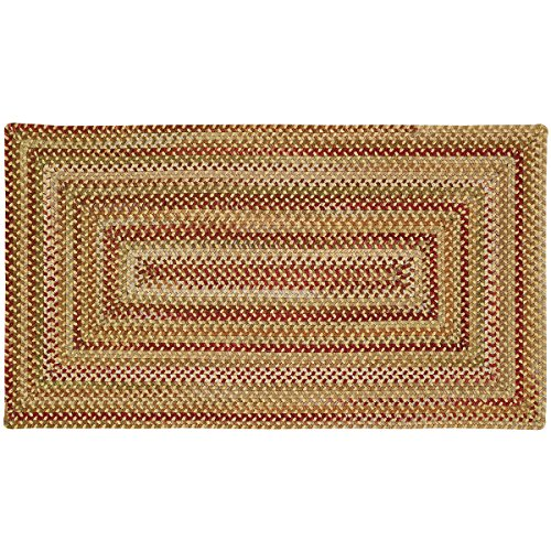 Capel Rugs Manchester Gold Hues Multi Rug Rug Size: Concentric 20