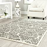 Safavieh Porcello Collection PRL3714A Grey and Ivory Area Rug (2'7″ x 5′)