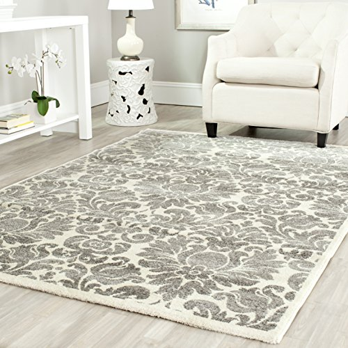 Safavieh Porcello Collection PRL3714A Grey and Ivory Area Rug (2'7