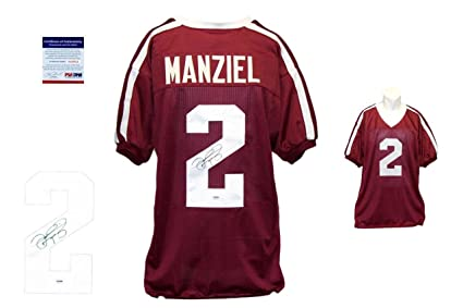 Johnny Manziel Signed Jersey - Texas AM - PSA DNA Certified - Autographed  NFL Jerseys 3cb18fac7