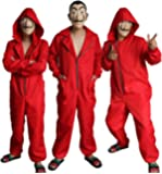 Salvador Dali Movie Costume Money Heist The House of Paper La Casa De Papel Cosplay hoodie Halloween Party Costumes with Face Mask