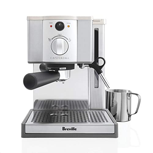 Breville-ESP8XL-Cafe-Roma-Stainless-Espresso-Maker
