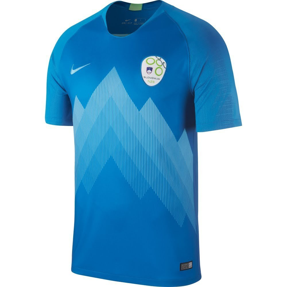 Nike 2018-2019 Slovenia Away Football Soccer T-Shirt Trikot