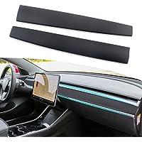 DXGTOZA for Tesla Model 3 Model Y Dashboard Cover Wrap Pattern ABS Dash Cover Wrap Cap for Tesla Model 3 Model Y 2016…